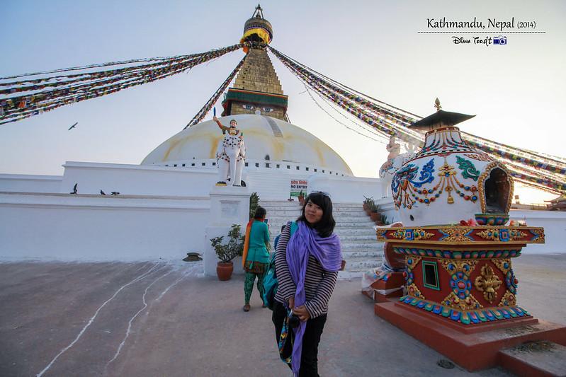 2014 Nepal Kathmandu Boudhanath Stupa 5