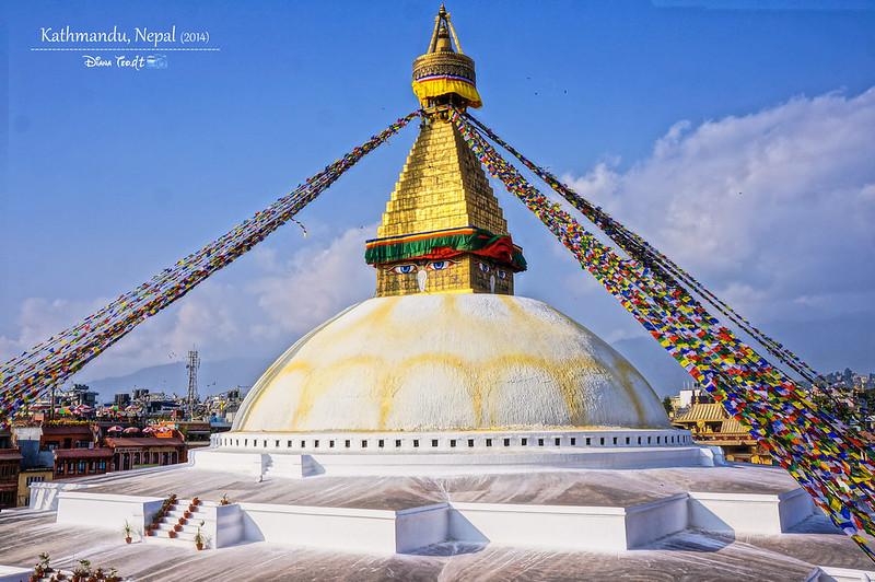 2014 Nepal Kathmandu Boudhanath Stupa 3