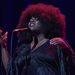Tue, 10/12/2019 - 8:02pm - Powerhouse British country-folk artist Yola at Holiday Cheer for FUV, 12/10/19 at the Beacon Theatre in New York City. Photo by Neil Swanson