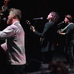 Tue, 10/12/2019 - 9:00pm - Mumford & Sons and a string section do an acoustic set at Holiday Cheer for FUV, 12/10/19 at the Beacon Theatre in New York City. Photo by Neil Swanson