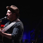 Tue, 10/12/2019 - 8:37pm - Mumford & Sons and a string section do an acoustic set at Holiday Cheer for FUV, 12/10/19 at the Beacon Theatre in New York City. Photo by Neil Swanson