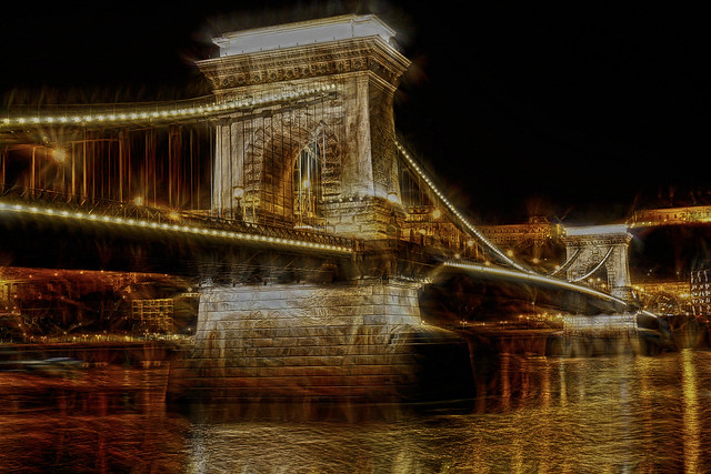 Budapest - Hungria - Puente de las cadenas