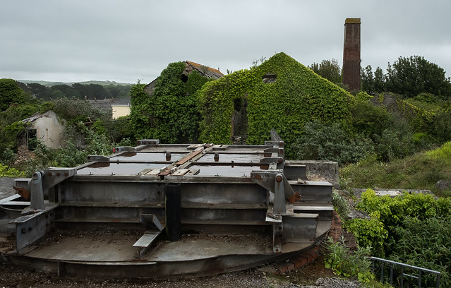 New Roskear Shaft, South Crofty Mine