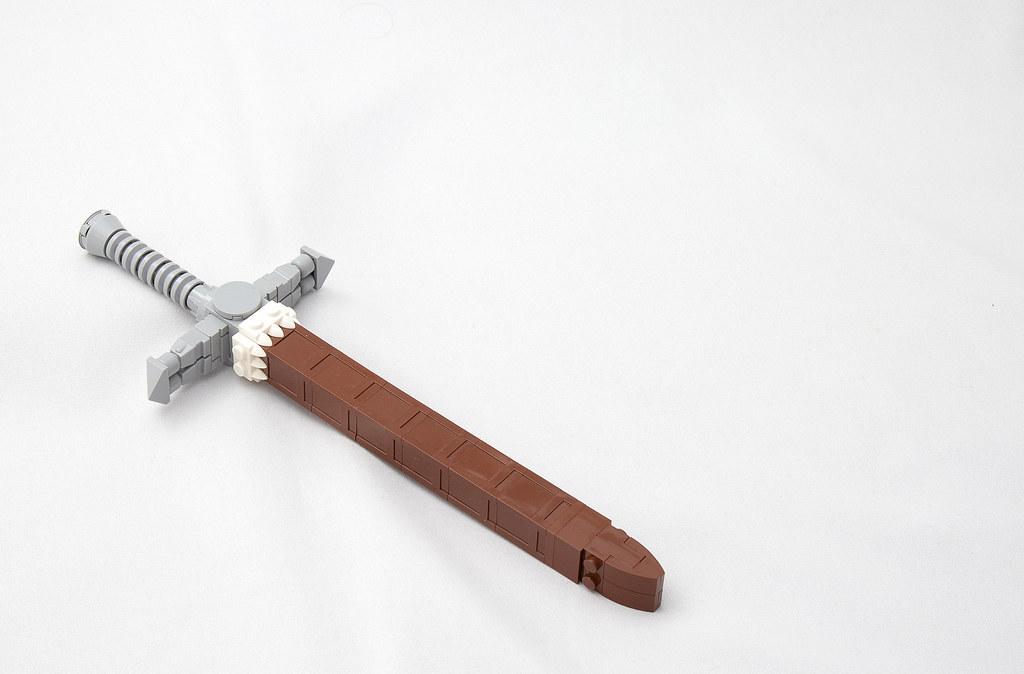 LEGO® MOC by vitreolum: Axe & Sword