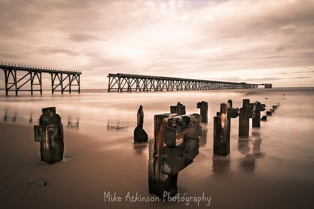 Steetley Pier In A Different Light