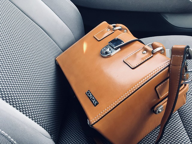 ZEISS Leather bag