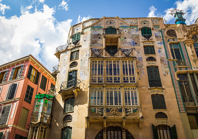 Spain - Mallorca - Palma - Can Forteza Rey Building