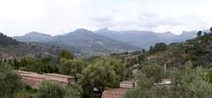 Deiá (Mallorca-España). Vista panorámica