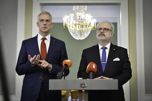 11.12.2019. Valsts prezidenta Egila Levita tikšanās ar Ministru prezidentu Krišjāni Kariņu