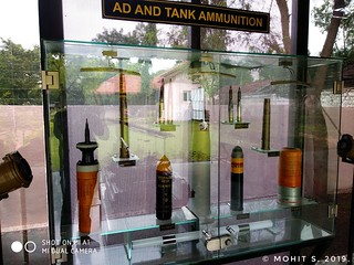 Tank and other ammunition.