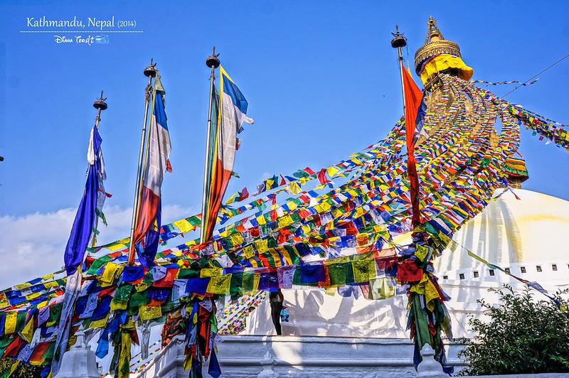 2014 Nepal Kathmandu Boudhanath Stupa 2