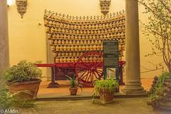 Cortile interno di Palazzo Antinori
