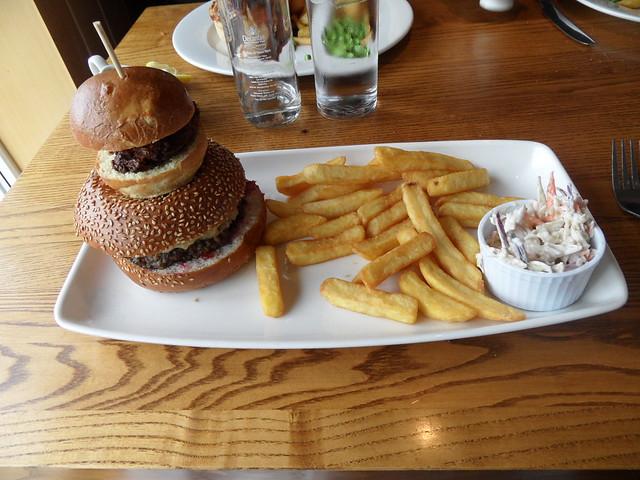 Snowman Burger