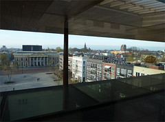View from Fries Museum in Leeuwarden - Friesland