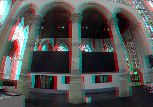 Narrow House in Oude Kerk Delft 3D GoPro