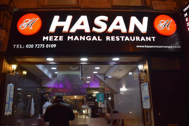 DSC_2341 Hasan Meze Mangal Turkish Restaurant Stoke Newington Road Dalston London