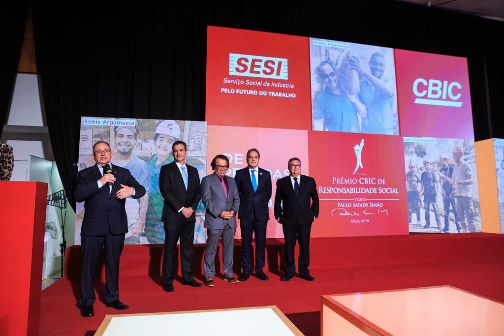 Prêmio CBIC de Responsabilidade Social - Edição 2019