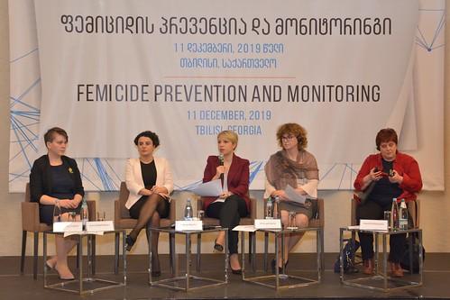 """კონფერენცია """"ფემიციდის პრევენცია და მონიტორინგი"""" / 11.12.19 / 27.Conference on Prevention and Monitoring of Femicide"""