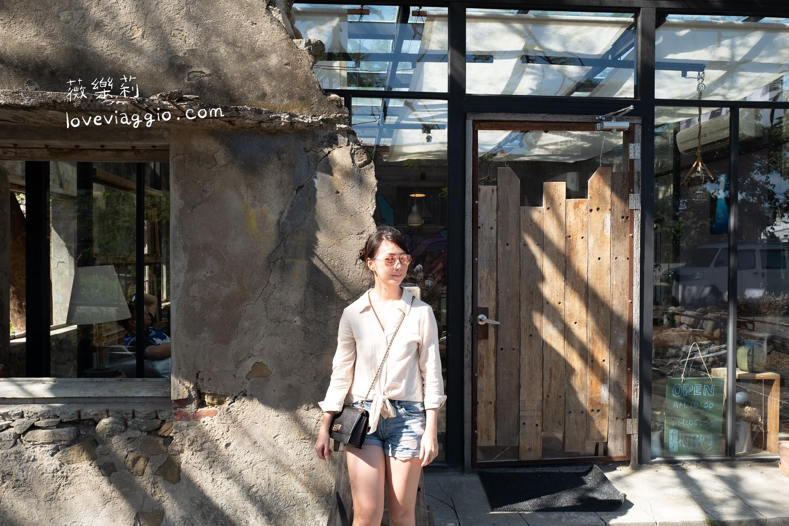 【墾丁|恆春】樹夏飲事 X 鈕扣倉庫 唯美廢墟玻璃屋咖啡店 @薇樂莉 Love Viaggio | 旅行.生活.攝影