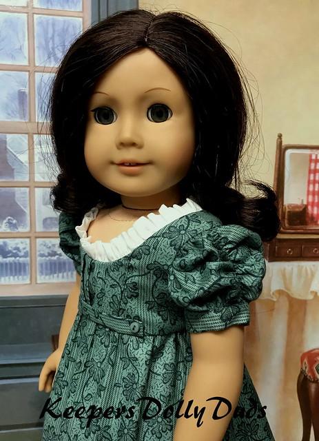 Young Girls Regency Dress, A KeepersDollyDuds Original Design