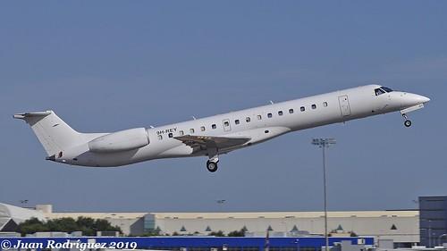 9H-REY - Maleth-Aero - Embraer ERJ-145EP - PMI/LEPA