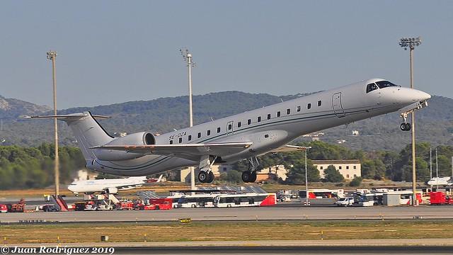 SE-DZA - Aero4M - Embraer ERJ-145EP - PMI/LEPA
