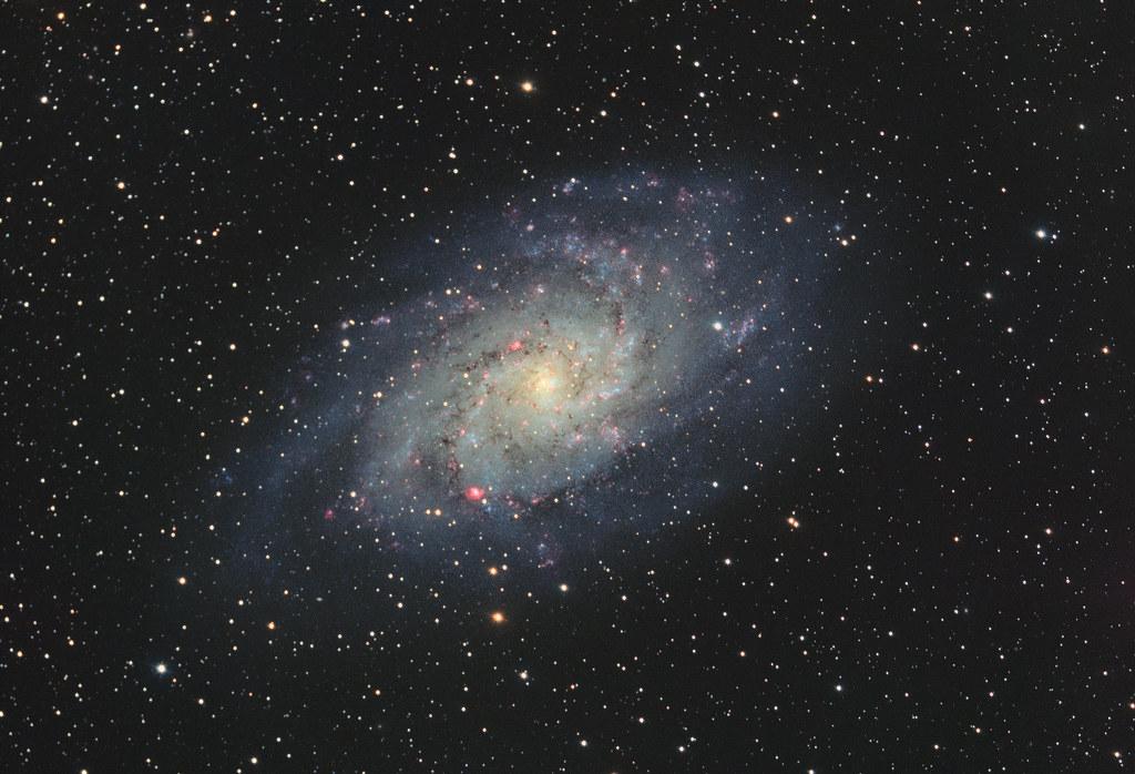 M33 re-postprocessing