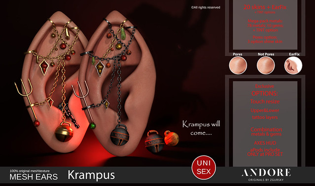 :ANDORE: @ New release for Krampus Event ( 13 Dec. Open)