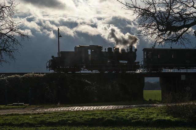 Lok 20 Mansfelder Bergwerksbahn | Bocksthal | Dezember 2019