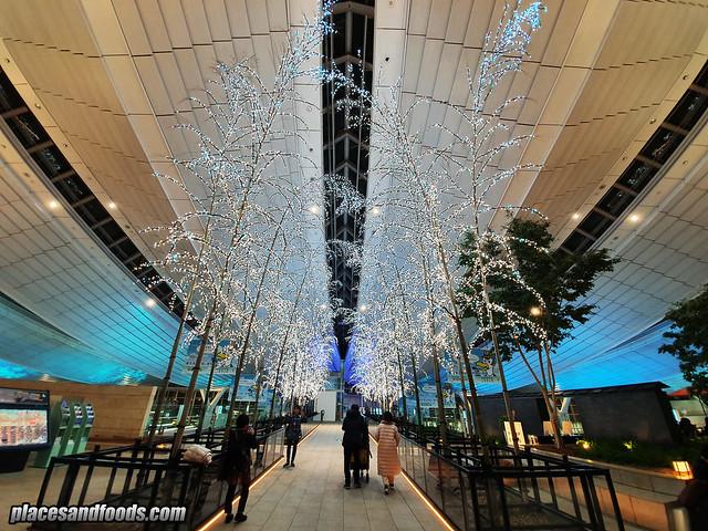 tokyo haneda sky illumination 2019
