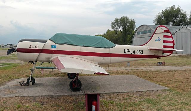 UP-LA053 Baiserke 09-07-2019 Private Yakovlev Yak-52 cn 899807