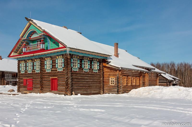 Дом В.Н.Копылова 1881 года из деревни Коростелево Коробицынского сельского совета Сямженского района