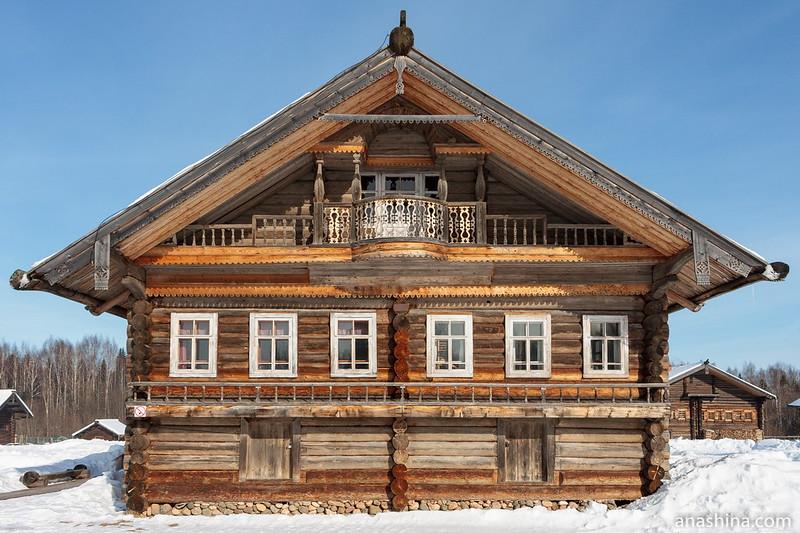 Дом В.В.Храпова, Семёнково