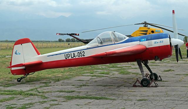 UP-LA052 Baiserke 09-07-2019 Aeroklub OTAN Yakovlev Yak-55 CN 890708