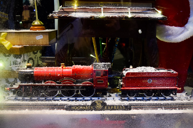 Hogwarts Express Canterbury Christmas Window 2019