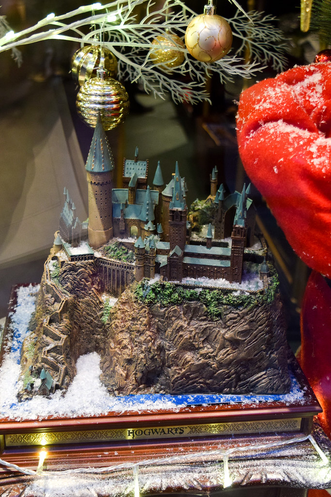 Hogwarts Canterbury Christmas Window 2019
