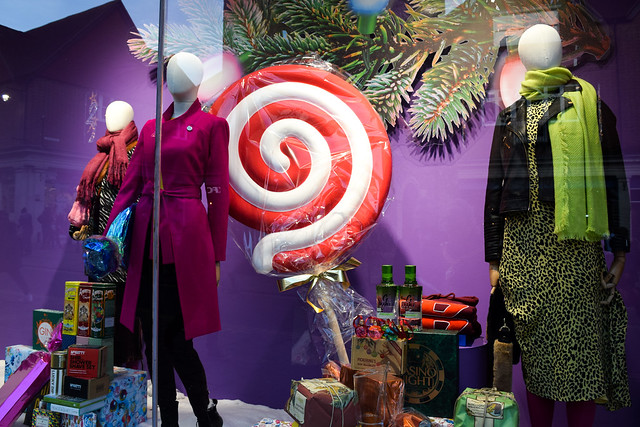 Fenwick Canterbury Christmas Window 2019