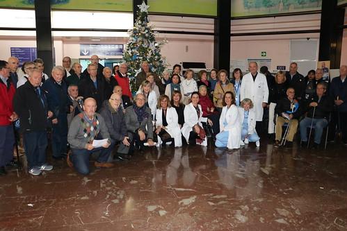 Actuación del Coro de ASPARBI en el Hospital de Basurto