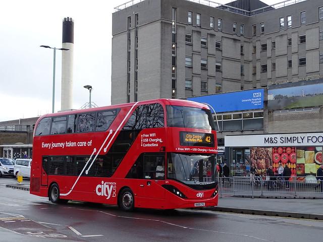 Plymouth Citybus WA69CYU 571