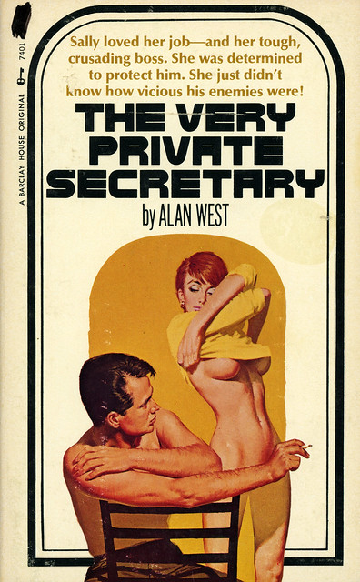 Barclay House 7401 - Alan West - The Very Private Secretary