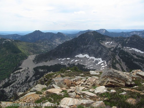 Views from St. Paul Peak, Cabinet Mountains Wilderness, Montana