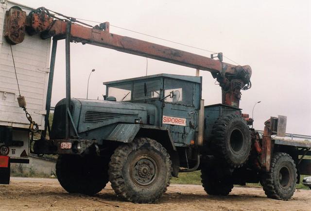 Mercedes LKW 315-46 4x4 Montgeron (91 Essonne) Juillet 1989a
