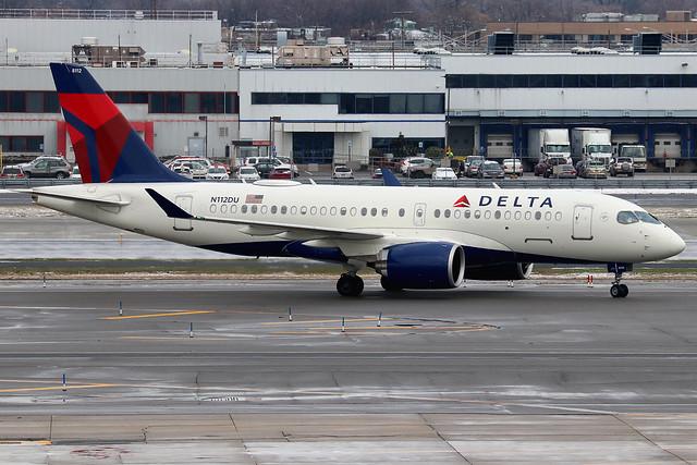 N112DU | Airbus A220-100 (CS100) | Delta Air Lines