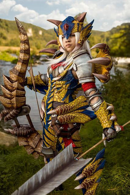 Tigrex Armor and Bow