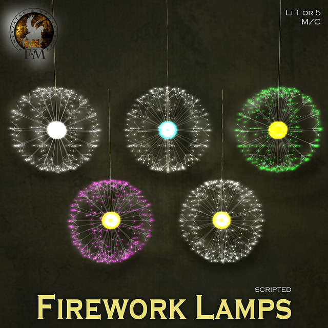 F&M * Firework Lamps