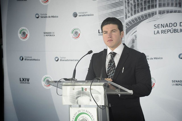 11.12.2019 Rueda de Prensa del Sen. Samuel García.