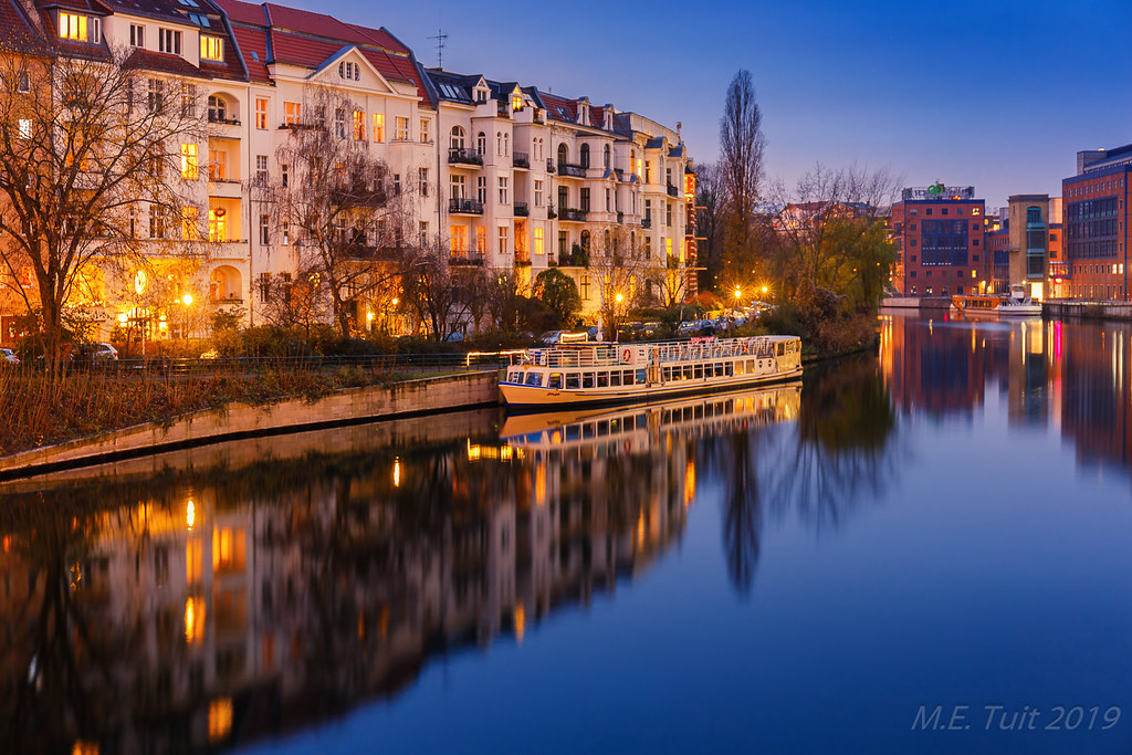 Spree river @ Twilight