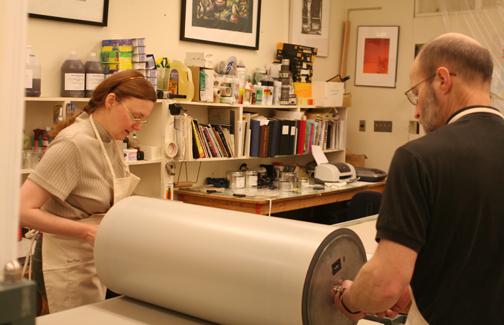 Veda Rives and Richard Finch printing run #1