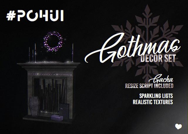 #POHUI - Gothmas decor set