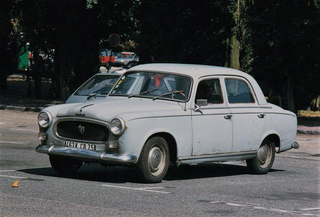 Peugeot 403 Berline Juvisy-sur-Orge (91 Essonne) 16-08-93a